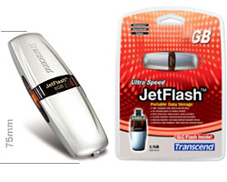 jetflash 2gb transcend 2a usb 2.0 (флеш память)