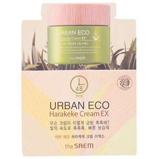 The Saem Urban Eco Harakeke Cream EX 1 мл